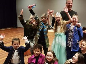 Kindertheater en beweging